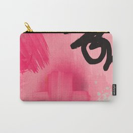 Pink Abstract explosion Carry-All Pouch