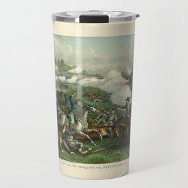 Civil War Battle of Opequan or Winchester Sept. 19th 1864 Travel Mug