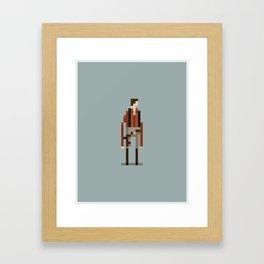 Cap'n Mal Framed Art Print