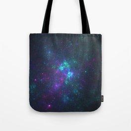 Purple Cluster Galaxy Version 2 Tote Bag