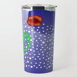 Poppy and rivers Travel Mug