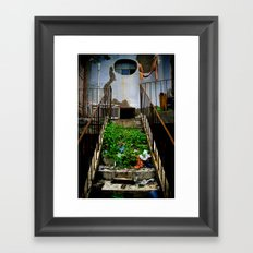 stair case Framed Art Print