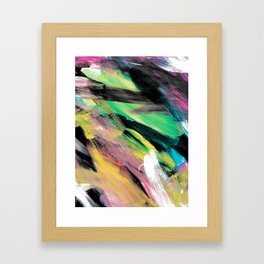Abstract Artwork Colourful #1 Framed Art Print