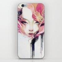 anna iPhone & iPod Skins featuring Bauhinia by Anna Dittmann