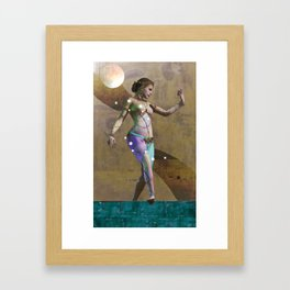 Fatale - Salomé - Gold Framed Art Print
