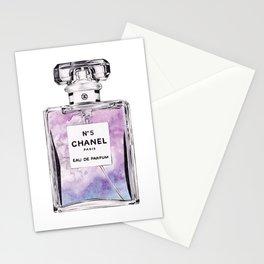 PERFUME No.5 PURPLE Stationery Cards