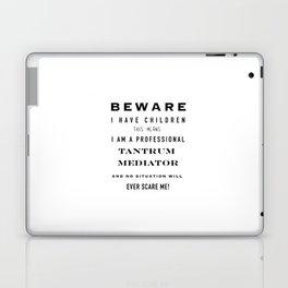 Tantrum mediator Laptop & iPad Skin