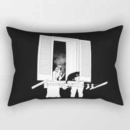goodnight cigarette Rectangular Pillow