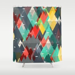 Pattern Of Nature Shower Curtain