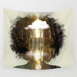 Brain Rain Wall Tapestry