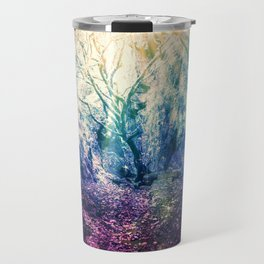 Light At The End of the Tunnel : Deep Pastels Travel Mug