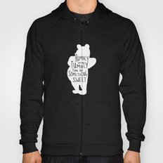 Rumbly in my Tumbly Time for Something Sweet - Winnie the Pooh inspired Print Hoody