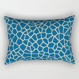 staklo (dark blue with coffee) Rectangular Pillow