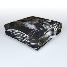 Majestic Tiger Outdoor Floor Cushion