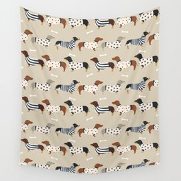 Dachshund doxie sweaters cute dog gifts dog breed dachsie owners must haves Wall Tapestry