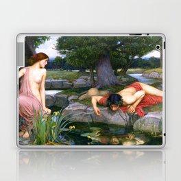 Echo And Narcissus WM Waterhouse Laptop & iPad Skin