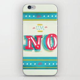 Um No iPhone Skin
