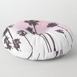Palms & Sunset Floor Pillow