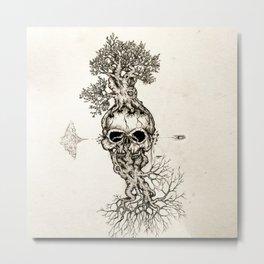 Life is fragile Metal Print