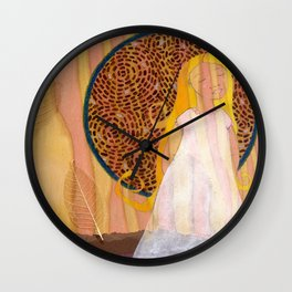 Virgo, the Virgin Wall Clock