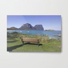 Island Home Metal Print