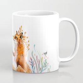 Girl And Magical Fox Coffee Mug