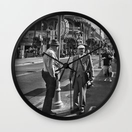 The Old Man Wall Clock