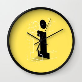 I from 36 Days of Type   2016 Wall Clock