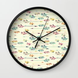 Love Arrows Wall Clock