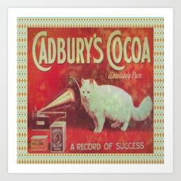Cadburys Cocoa Art Print