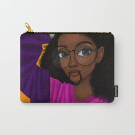 hair up Carry-All Pouch