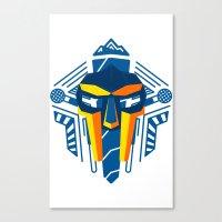 mf doom Canvas Prints featuring MF Doom Shirt by Argo Vector Art & Design