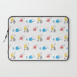 Polar Bear Triathletes Laptop Sleeve