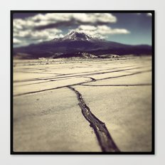 mt. shasta Canvas Print