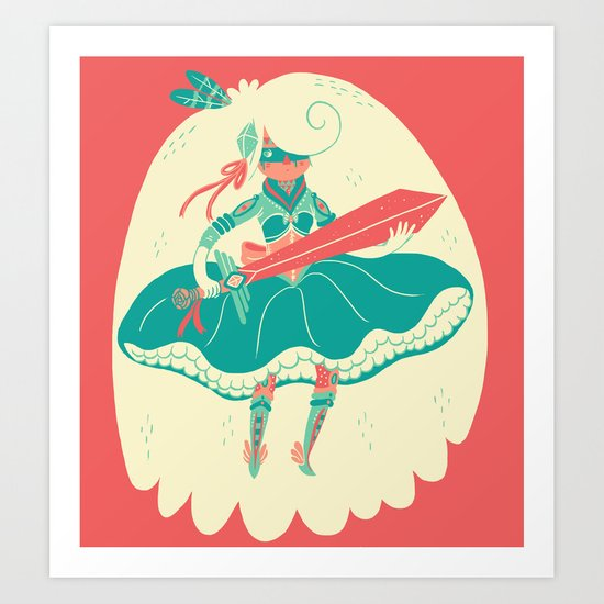 Magical Ass Kicker Art Print