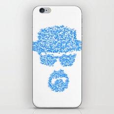 Breaking blue iPhone & iPod Skin