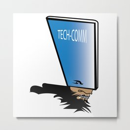 Tech vs Communication Metal Print