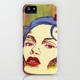 The Rose Woman iPhone Case