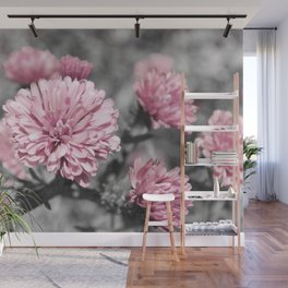 Blushing Gray Wall Mural