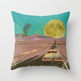 EVENING EXPLOSION II Throw Pillow