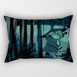 Wanderer Bilbs - Forest Rectangular Pillow