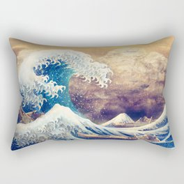 The Great Wave off Kanagawa Rectangular Pillow
