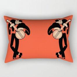 The Banjoist Rectangular Pillow