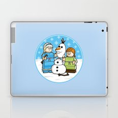 Want to Build a Snowman? Laptop & iPad Skin