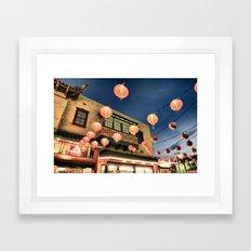 Chinatown_2011052102 Framed Art Print