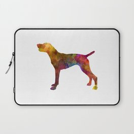 German Shorthaired Pointer in watercolor Laptop Sleeve