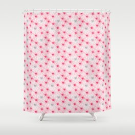 Heartbeats Nerve Shower Curtain