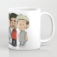 1d Mugs featuring Schulz 1D by Ashley R. Guillory