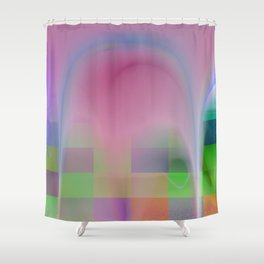 abstract lighteffets -5- Shower Curtain