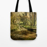 ford Tote Bags featuring Hunworth Ford by J Coe Photography